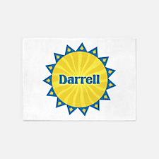 Darrell Sunburst 5'x7' Area Rug