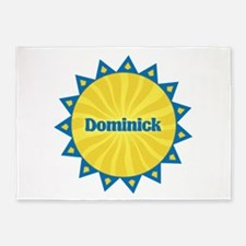 Dominick Sunburst 5'x7' Area Rug