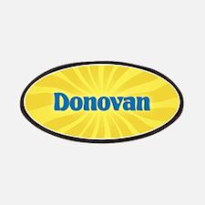 Donovan Sunburst Patch