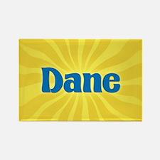 Dane Sunburst Rectangle Magnet