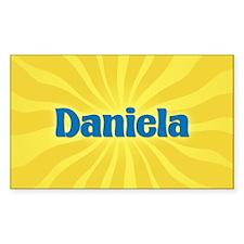 Daniela Sunburst Oval Decal