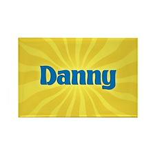 Danny Sunburst Rectangle Magnet