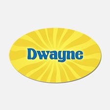 Dwayne Sunburst Wall Decal
