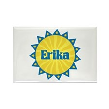 Erika Sunburst Rectangle Magnet