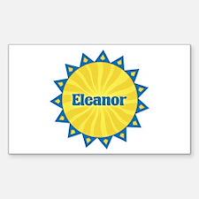 Eleanor Sunburst Rectangle Decal