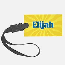 Elijah Sunburst Luggage Tag