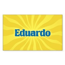 Eduardo Sunburst Oval Decal