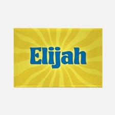 Elijah Sunburst Rectangle Magnet