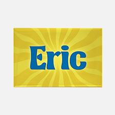 Eric Sunburst Rectangle Magnet