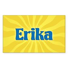 Erika Sunburst Oval Decal
