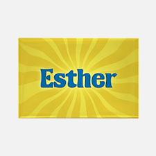 Esther Sunburst Rectangle Magnet