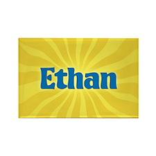 Ethan Sunburst Rectangle Magnet