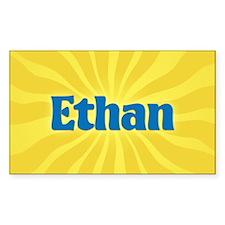 Ethan Sunburst Rectangle Decal