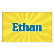 Ethan Sunburst Oval Decal
