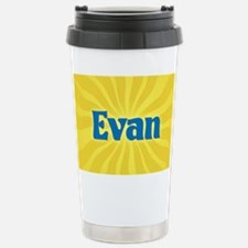 Evan Sunburst Travel Mug