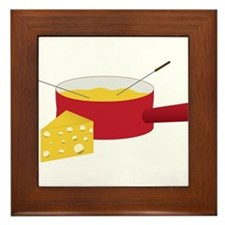 Fondue Framed Tile