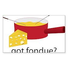 Got Fondue Decal