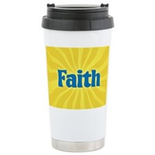 Faith Sunburst Travel Mug