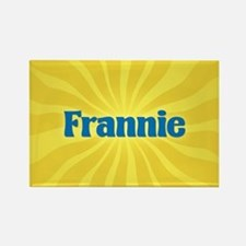 Frannie Sunburst Rectangle Magnet