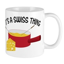 A Swiss Thing Mug