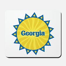 Georgia Sunburst Mousepad