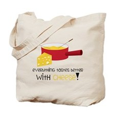 With Cheese Tote Bag