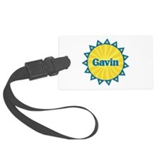 Gavin Sunburst Luggage Tag