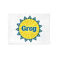 Greg Sunburst 5'x7' Area Rug