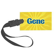 Gene Sunburst Luggage Tag