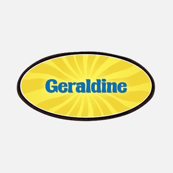 Geraldine Sunburst Patch