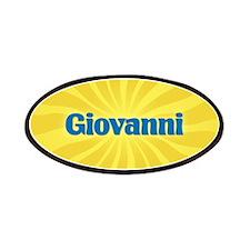 Giovanni Sunburst Patch