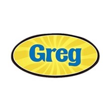 Greg Sunburst Patch