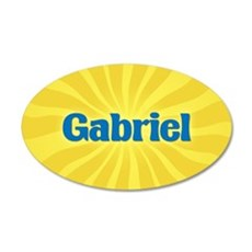 Gabriel Sunburst Wall Decal