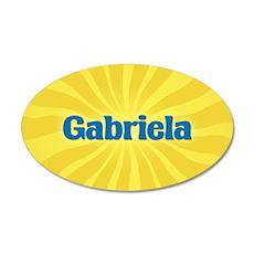 Gabriela Sunburst Wall Decal