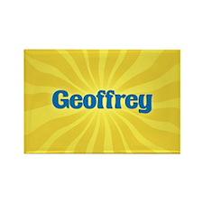 Geoffrey Sunburst Rectangle Magnet