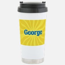George Sunburst Travel Mug