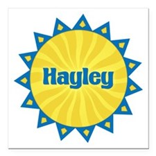 Hayley Sunburst Square Car Magnet
