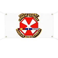 Army - 8th Army w Korean Svc Banner