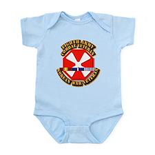 Army - 8th Army w Korean Svc Infant Bodysuit