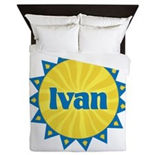 Ivan Sunburst Queen Duvet
