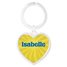 Isabelle Sunburst Heart Keychain