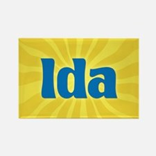 Ida Sunburst Rectangle Magnet
