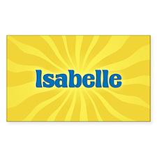 Isabelle Sunburst Oval Decal
