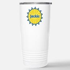 Jackie Sunburst Stainless Steel Travel Mug