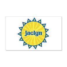 Jaclyn Sunburst 22x14 Wall Peel