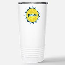 Janice Sunburst Travel Mug