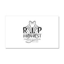 RIP Trademarked Logo Car Magnet 20 x 12