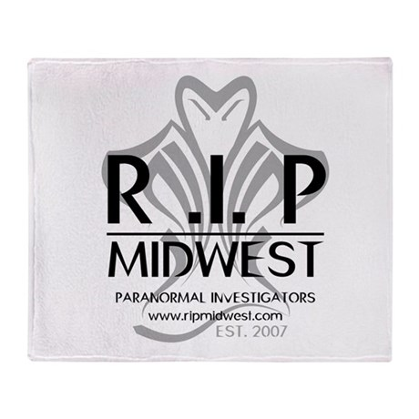 RIP Trademarked Logo Throw Blanket