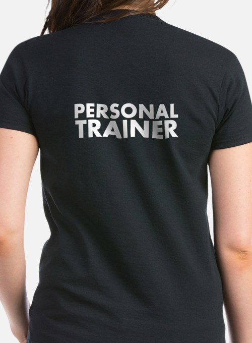 Personal Trainer Black/White Tee