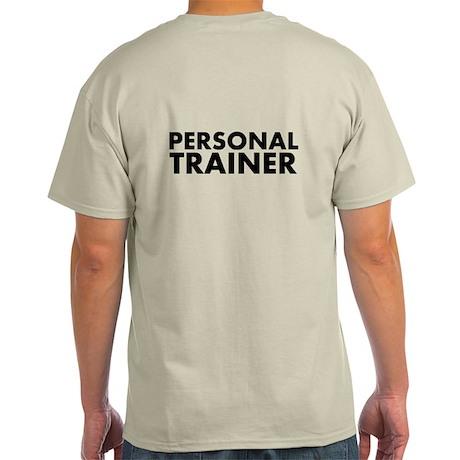 Personal Trainer Black/White Light T-Shirt